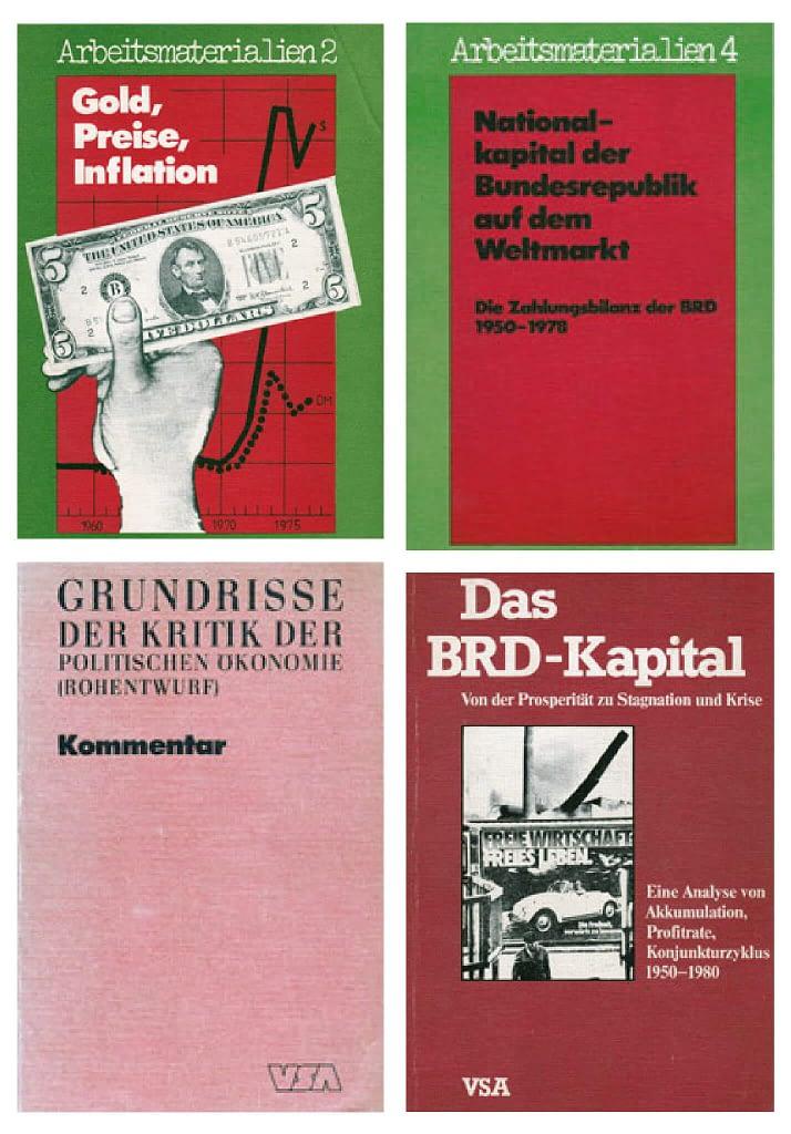 Buchsammlung VSA-Verlag